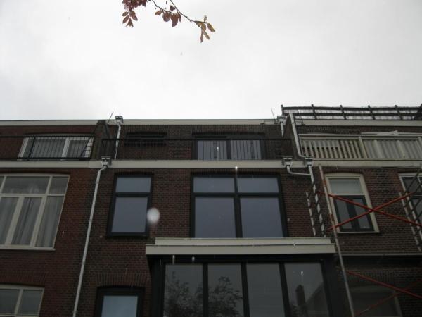 Renovatie woning (4 verdiepingen), te Rotterdam